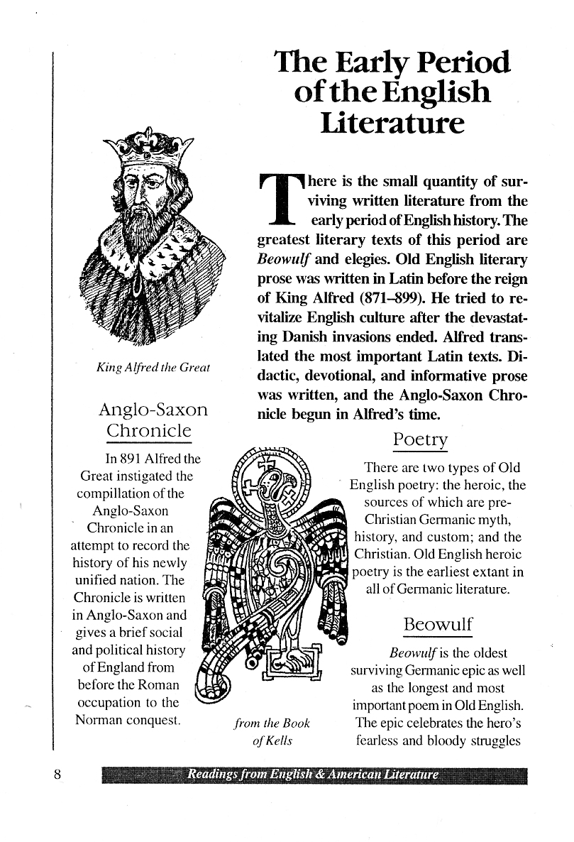 old english anglo saxon period brief